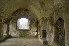 Manorbier Castle, The 13th century chapel