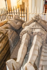Sir Richard and Lady Cecily Blount tomb