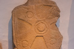 11th century cart wheel cross from St Nynnid