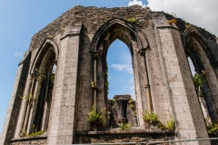 Abbey chapter house ruins