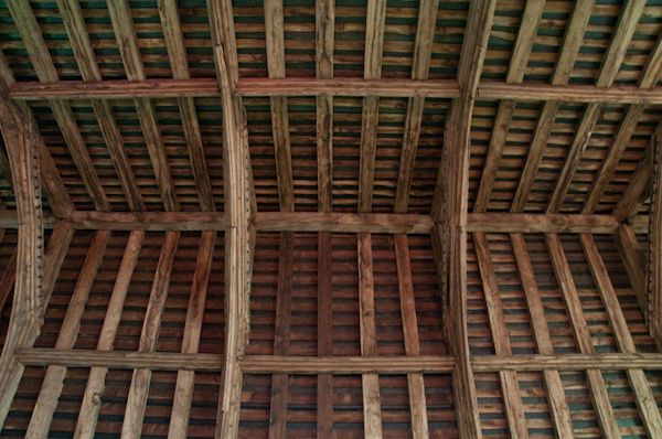 Marlesford, St Andrew's Church photo, 15th century nave roof