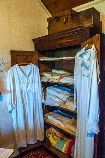 Mary Ann's Cottage photo, A clothes cupboard in the bedroom