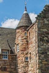 Mary Queen of Scots Visitor Centre, The corner tower turret