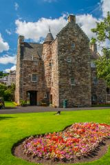 Mary Queen of Scots Visitor Centre, The house from the surrounding garden