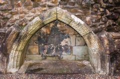 Maybole Collegiate Church, Remains of an Easter Sepulchre