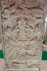 The rear face of the Vanora Stone (Meigle 2)