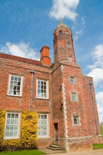 Melford Hall photo, Jacobean tower
