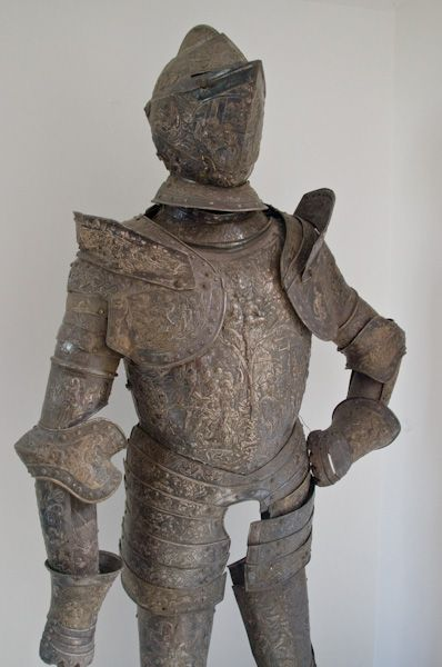 Melford Hall photo, Suit of armour