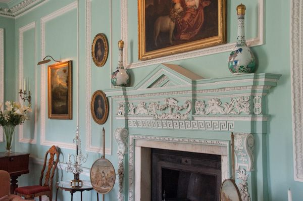 Melford Hall photo, Neo-classical fireplace
