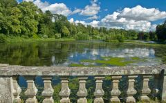 Mellerstain House, The lake walk