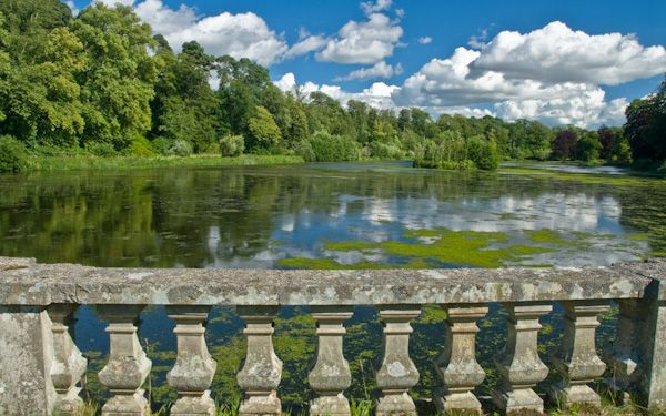 Mellerstain House photo, The lake walk