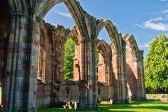 Melrose Abbey, Arcade arches
