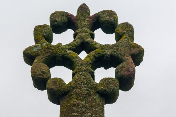 Merkland Cross photo, The cross head