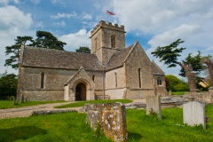 Meysey Hampton Church, Gloucestershire