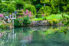 Mill Dene Garden, The Mill Pond