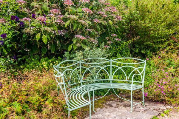 A Garden Seat ...