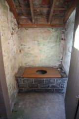 Monksthorpe Chapel, A fairly basic outdoor privy