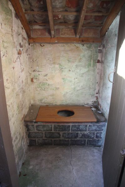 Monksthorpe Chapel photo, A fairly basic outdoor privy