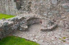 Montgomery Castle, Ruins of a bread oven
