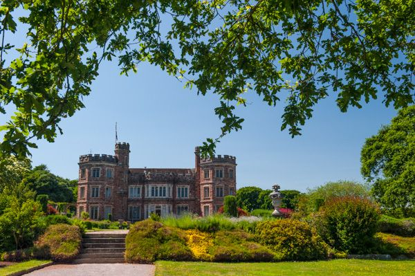 Mount Edgecumbe House and Country Park photo, East Lawn gardens