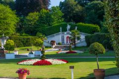 Mount Edgecumbe House and Country Park, Italian gardens