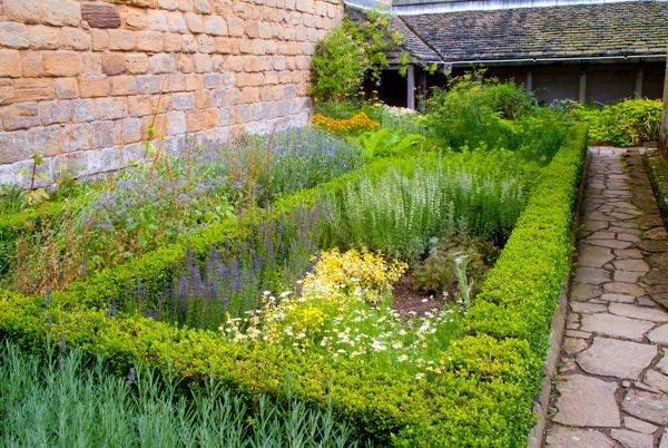 Mount Grace Priory photo, Monk's garden