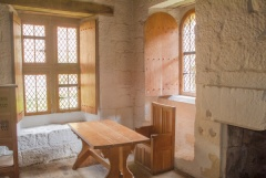 Restored monk's cell