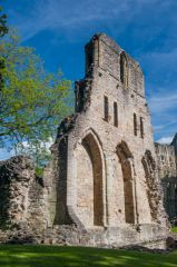 Wenlock Priory, Walls of the priory church