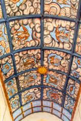 The early 17th century painted ceiling
