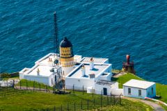 A closer look at the Mull of Kintyre lighthouse