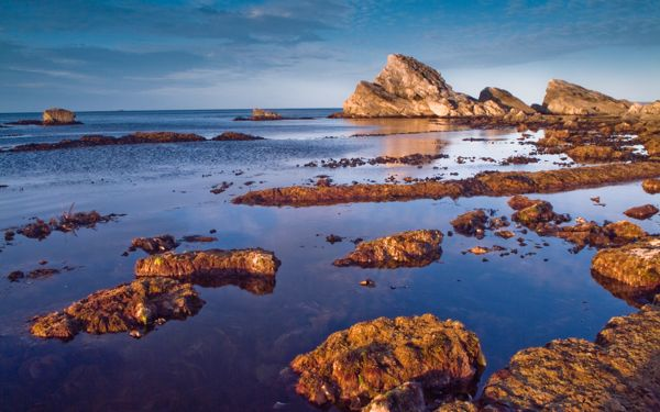 Lulworth Heritage Centre photo, Rocks at Mupe Bay