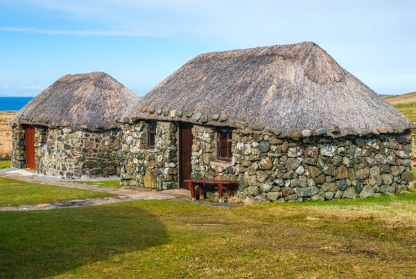 Skye Museum of Island Life photo, Tow of the smaller cottages
