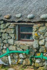 Skye Museum of Island Life, A cottage window