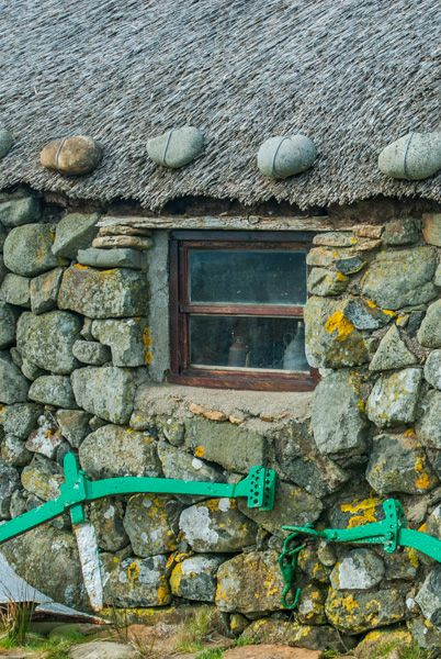 Skye Museum of Island Life photo, A cottage window