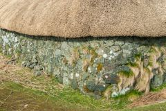 Skye Museum of Island Life, A freshly thatched cottage