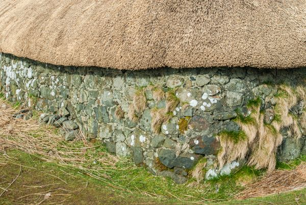 Skye Museum of Island Life photo, A freshly thatched cottage