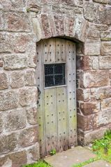 The bell tower door