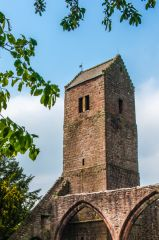 The 12th century tower