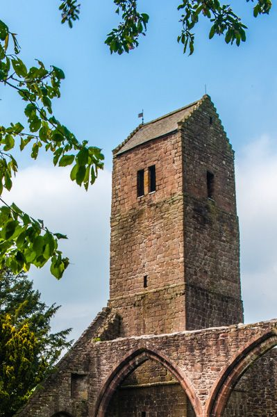 Muthill Old Church photo, The 12th century tower