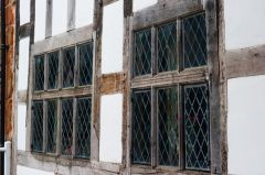 Medieval mullioned windows