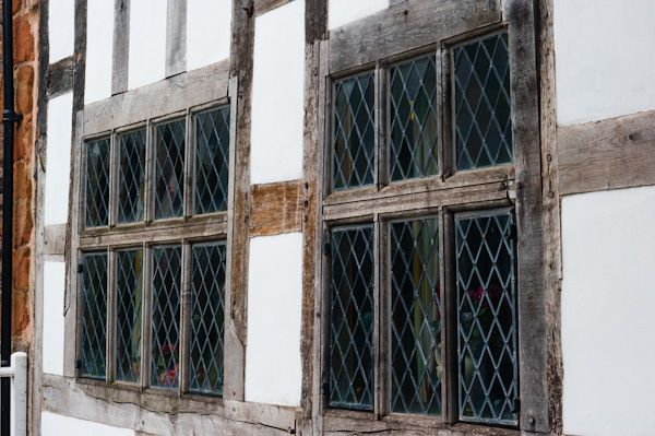 Nantclwyd House (Nantclwyd y Dre) photo, Medieval mullioned windows