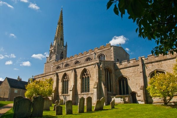 Nassington Church Northamptonshire Historic