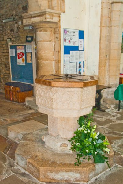 Nassington, St Mary & All Saints Church photo, The font