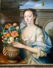 Elizabeth Drummond, 1740, by William Mosman