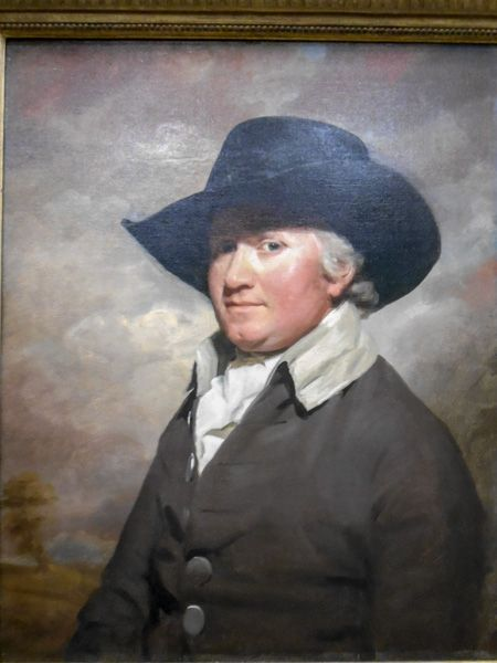 Scottish National Gallery photo, David Hunter of Blackness, 1788, by Sir Henry Raeburn