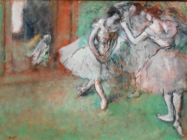 Scottish National Gallery photo, A Group of Dancers, 1898, by Edgar Degas