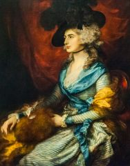National Gallery, Mrs Siddons, by Thomas Gainsborough, 1785