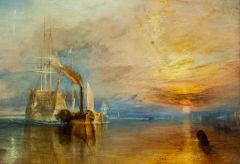 National Gallery, The Fighting Temerair, by JMW Turner, 1839