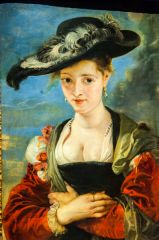 National Gallery, Le Chapeau de Paille, 1622, by Rubens