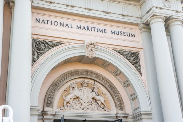 National Maritime Museum photo, The neo-classical doorway
